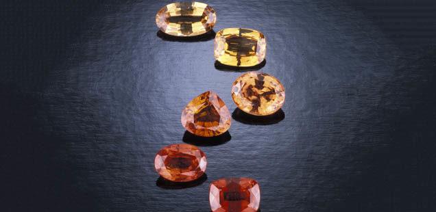 GIA - fall jewelry - citrines