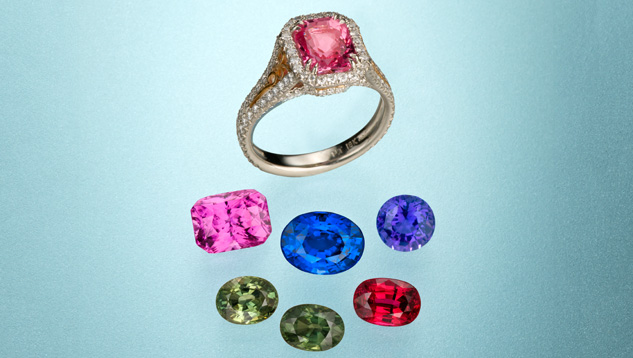 Sapphire Colors - GIA