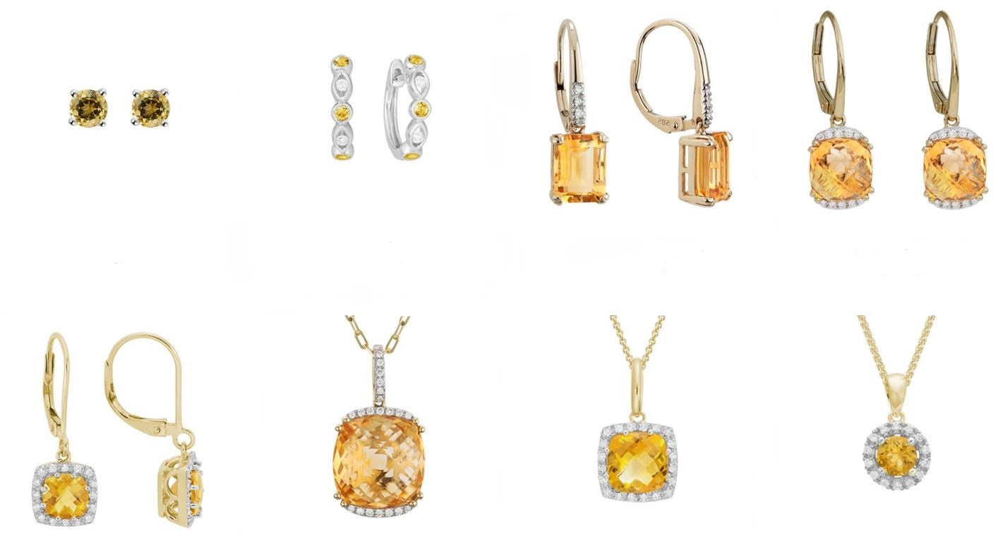 Citrine Jewelry Available at Schwanke-Kasten Jewelers
